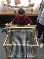 上海民俗文化织布机
