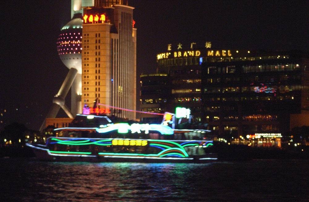 上海黄浦江游船,黄浦江游览,玫瑰公主-大型豪华游船