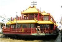 上海黄浦江游船,黄浦江游览,白玉兰号中式仿古游船