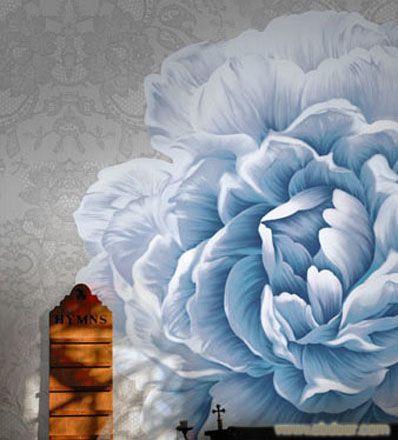 手绘画壁画 上海