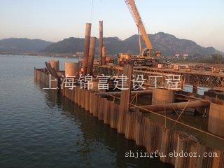 上海钢板桩租赁/安装价格