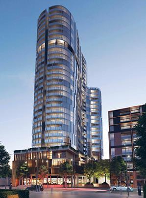 墨尔本市区北边MooneePonds区Mason SQ精品楼盘,新开盘Rise公寓