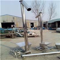 厂家直销移动式不锈钢螺旋上料机 黄山159mm管径5米长绞龙输送机