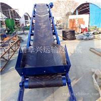 304不锈钢食用盐传递输送机 石子用短途装车输送机