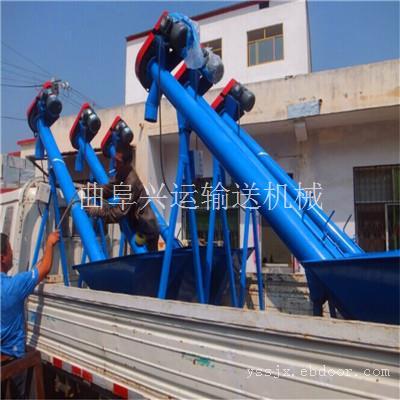 扬州榨油坊用倾斜螺旋送料机 两相220V螺旋送料机