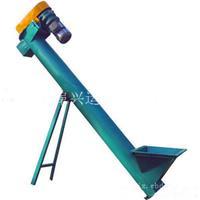 工业用管式螺旋上料机 定做面粉不锈钢耐腐蚀螺旋输送机