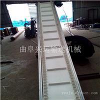 800宽不等臂双向升降胶带式输送机 PVC防滑式箱货输送机