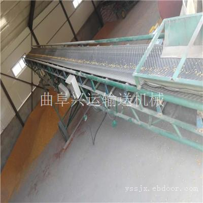 两相电装卸车防滑带式输送机 散玉米装船用大型皮带输送机