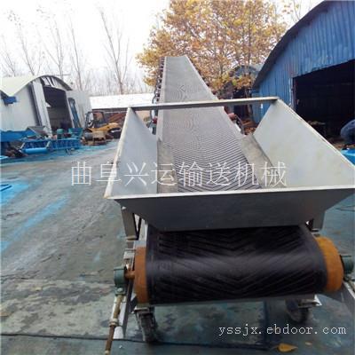 大型砂石料场固定式皮带输送机 兴运工厂按需加工定制