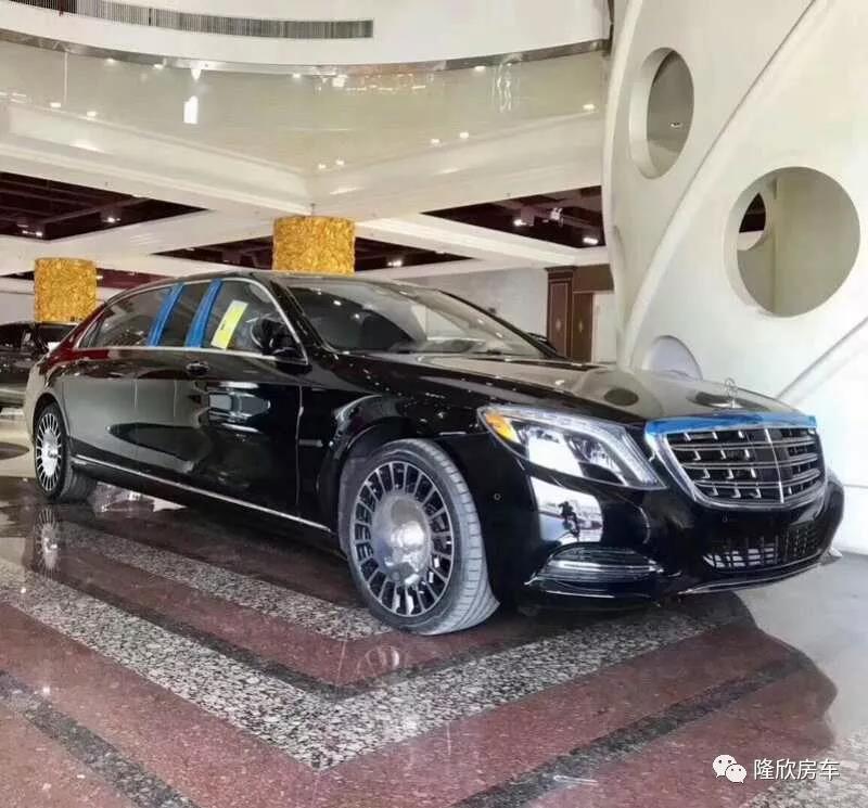 最新款迈巴赫S600加长礼宾车展厅现车销售