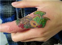 上海手部时尚纹身设计