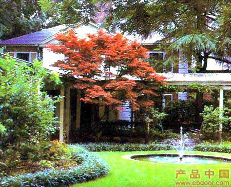 欧式私家花园设计与实景图对照