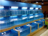 大型海鲜鱼池