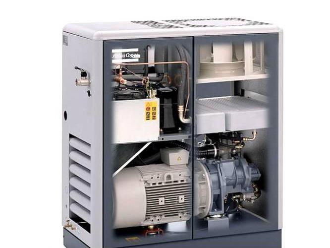75KW干式无油螺杆空压机