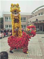 上海民间艺术表演_舞狮子.