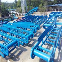 兴运机械9米长爬坡装车升降式输送机