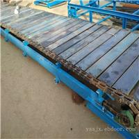 玻璃瓶板链输送机运输平稳 链板输送机调试制造厂家