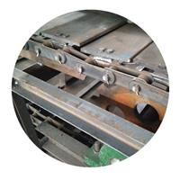 玻璃瓶板链输送机直销 链板输送机报价定制厂家