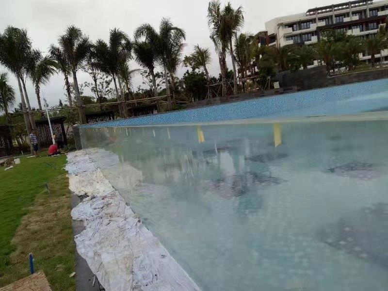 亚克力游泳池-游泳池设计定做厂家-儿童亚克力泳池