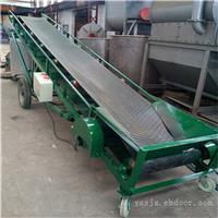 厂家按客户要求批量加工圆管护栏装车输送机