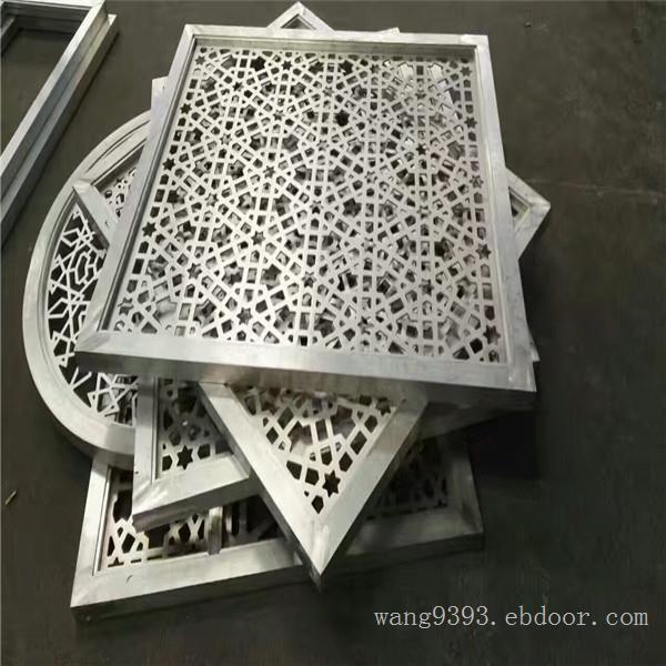 厂家直销雕花铝单板门头招牌镂空铝单板定制