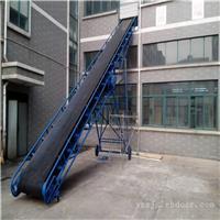 日用品装车加高挡板橡胶带输送机 兴运厂家按需定制