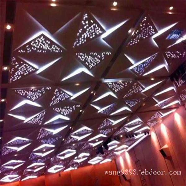 四季花园宴会中心雕花透光铝单板  铝单板时尚新颖设计