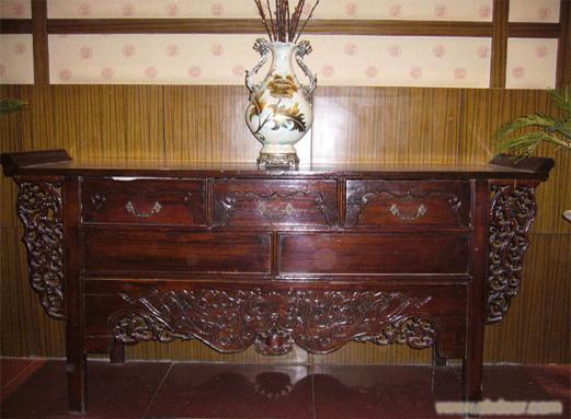 翘头柜4,翘头柜4相关信息 上海东阳木雕仿古家具厂