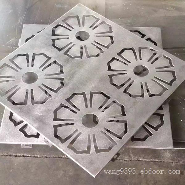 数控雕花铝单板门头  不规则冲孔铝单板装饰