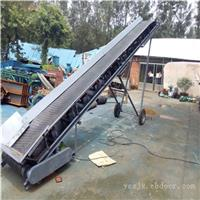 9米长整机可移动正反转食品纸箱装车输送机