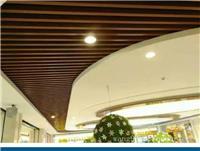 门店装饰铝方通-氟碳铝型材方管幕墙