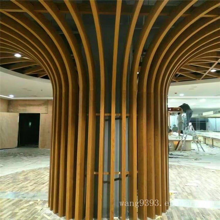 新型商场铝合金方通天花-造型铝板铝方通吊顶