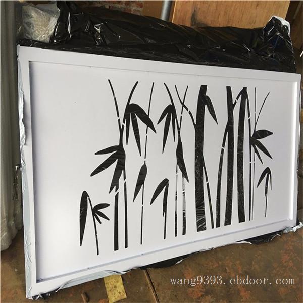 广告牌雕刻铝单板装饰  白色镂空透光铝单板吊顶