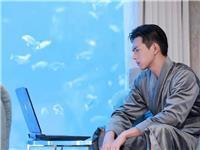 韩商言入驻酒店水底套房、亚克力鱼缸预订价格