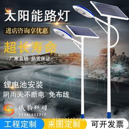 太阳能路灯工程定制,太阳能路灯来图定制