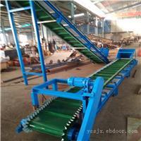 DY500-PVC裙边格挡式防滑水果分拣输送机 兴运厂家定做