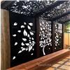 广丰文化馆镂空雕花铝单板幕墙-铝合金造型铝板定制厂家