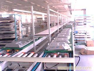 上海电视机组装流水线