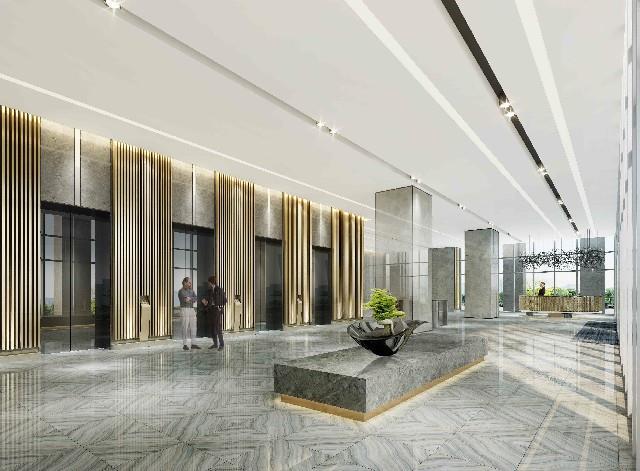 [上海办公室装修]金山工商联大厦办公室