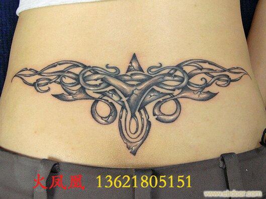 腰部图腾5_相关信息_火凤凰-上海专业纹身室/上海图片图片