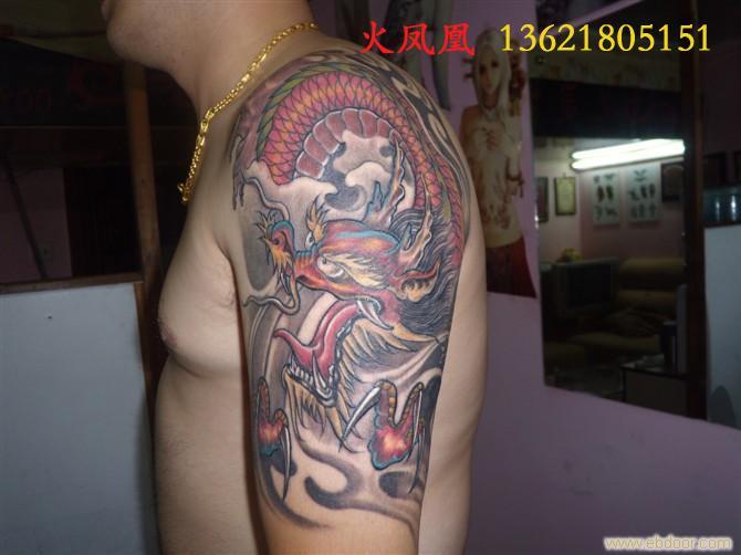 手臂纹身 腰部纹身 背部纹身图片