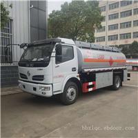 8吨油罐车价格(东风福瑞卡8.2方油罐车)
