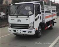 解放虎V蓝牌气瓶运输车(新规底盘)