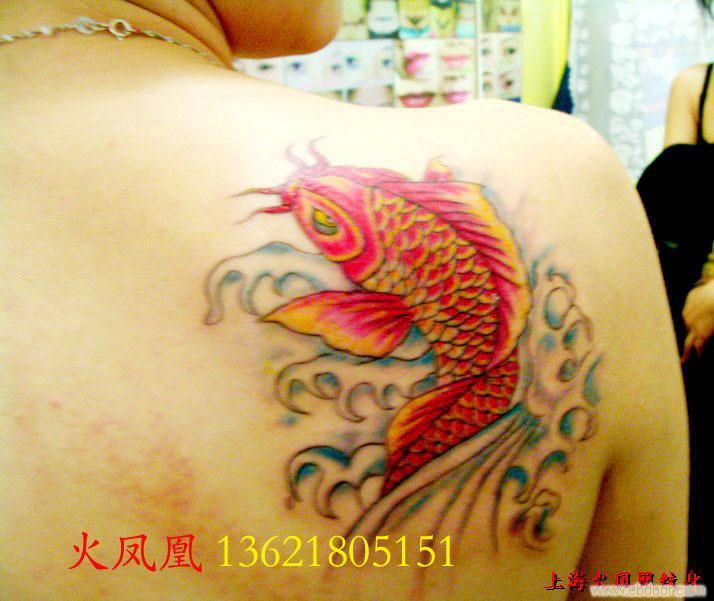 上海纹身店上卿纹身作品——吉祥