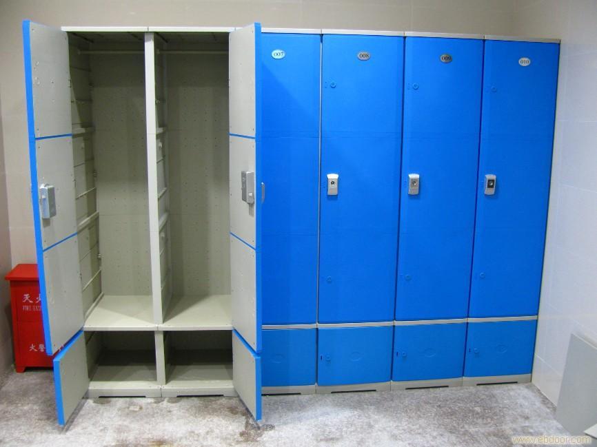 塑料更衣橱柜更衣室橱柜浴室衣柜桑拿室衣柜abs健身