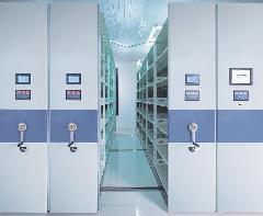 上海交大图书馆电动密集架案例