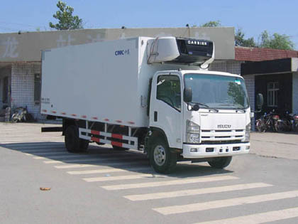 五十铃6.9米单排冷藏车