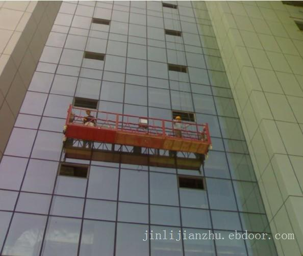 上海电动吊篮-现场操作