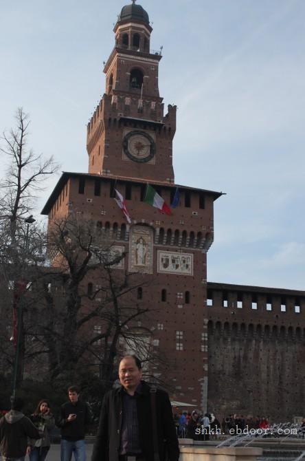 宋总赴意大利展会照片