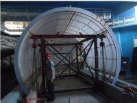 亚克力鱼缸隧道安装